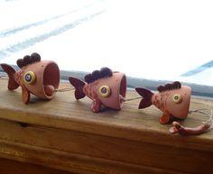Ceramic bells CARPE DIEM by WisperOn on Etsy, $38.00