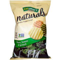 Eatsmart Naturals, Naturals, Garden Veggie Crisps, Potato, Tomato & Spinach, 6 oz (170.1 g) - iHerb.com