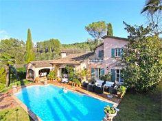 Beautiful Provencal Villa In Quiet Area (MD3980015) -  #Villa for Sale in Alpes-Maritimes, Bretagne, France - #AlpesMaritimes, #Bretagne, #France. More Properties on www.mondinion.com.