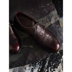 868c986c962a Leather Brogues with Asymmetric Closure Formal Shoes For Men
