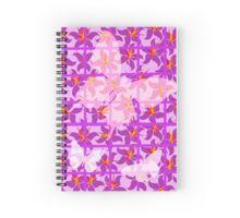 Butterfly Trellis ... Spiral Notebook