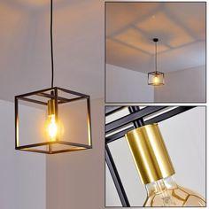 Ibusuki Hängeleuchte Schwarz, Gold, 1-flammig Retro Lampe, Gold 1, Ceiling Lights, Lighting, Pendant, Home Decor, Products, Ceiling Light Fixtures, Homemade Home Decor
