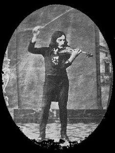 Niccolo Paganini  (1782-1840).