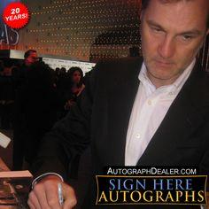 David Morrissey in-person autographed photo David Morrissey, Photo P, Actors, Celebrities, Fictional Characters, Celebs, Fantasy Characters, Celebrity, Actor