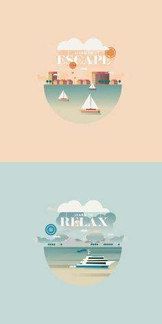 Image result for poster flat design