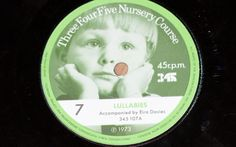 45 r.p.m  Number 7 Old McDonalds Farm & Lullabies Three Four Five Nursery Course Record series