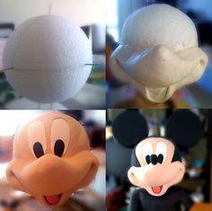 Mickey head by It's My Cake, Inc