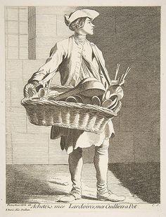 Cookware Peddler Anne Claude Philippe de Tubières, Comte de Caylus  (French, Paris 1692–1765 Paris)