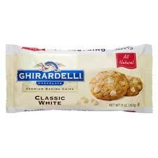 Ghirardelli Chocolate Baking Chips Classic White 11oz 20 Bags   Available Now!  http://www.bonanza.com/listings/X20-Ghirardelli-Chocolate-Baking-Chips-Classic-White-11oz-20-Bags/117190591