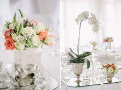 Janine & Ewald's romantic coral wedding | b.loved weddings | UK Wedding Blog & Inspiration for Pretty Contemporary Weddings | Wedding Planner & Stylist