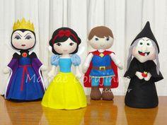 Coleção Branca de Neve - 11 bonecos