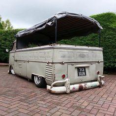VW ((great junkin mobile for me)) Volkswagen Type 2, Volkswagen Bus, Vw T1, Vw Camper, Volkswagen Transporter, Kombi Pick Up, Vw Pickup, Kdf Wagen, Van Living