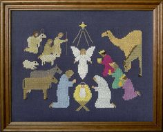 And It Came to Pass - cross stitch pattern designed by Susan Saltzgiver. Category: Christmas.