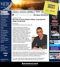 ::Náutica Online:: Acesse o link da matéria @nauticaonline http://www.revistanautica.com.br/noticias/viewnews.php?nid=ult7c6f6524aed4ab86af5a3f67fcfef23b