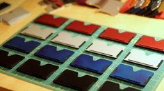 Vi – The Wallet Card Holder Minimalist Wallet, Slim Wallet, Card Wallet, Gears, Gadgets, Card Holder, Magazine, Minimal Wallet, Gear Train