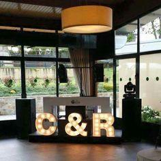 Letras luminosas para eventos Marquee Lights, Flip Clock, Home Decor, Channel Letters, Mariage, Events, Decoration Home, Room Decor, Interior Decorating