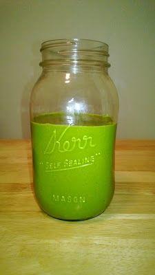 ... Orange Green Smoothie. A really delicious, creamy, vegan smoothie