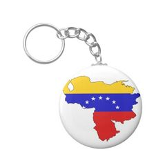 Shop Venezuela flag map keychain created by FlagStore. Venezuela Flag, Create Your Own, Create Yourself, Political Events, National Flag, Custom Buttons, Flags, Cool Designs, Map