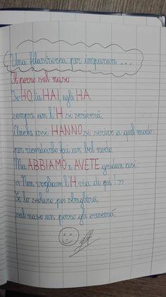 Analisi grammaticale semplificata, in tabella... Il verbo AVERE... Una filastrocca molto divertente...  Da