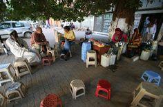 coffee stand in Khartoum, Sudan