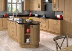 modern light oak kitchen cabinets kitchen color ideas light oak cabinet collections info home Light Oak Cabinets, Oak Kitchen Cabinets, Kitchen Cabinet Colors, Kitchen Tiles, Kitchen Colors, Kitchen Flooring, Kitchen Decor, Kitchen Blinds, Shaker Style Kitchens