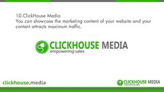 http://www.ClickHouse.Media/ - Syndicating your marketing content is the best way to drive more traffic towards your website and grow your business. Read on to find out more.  We  re-purpose your original content into a variety of media formats such as audio, video, PDF, PPT, Image Quotes, Infographics and more. 350+ content staff at your disposal - http://www.ClickHouse.Media/