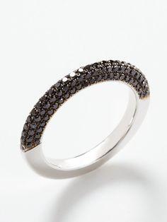 #rings #diamonds #black