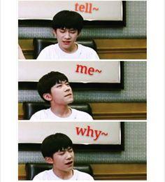 -Hihi =))) trrong lúc phỏng vấn anh ấy nghe thấy bài hát TMW =)))