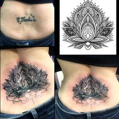 Complicated Low Back Tattoo