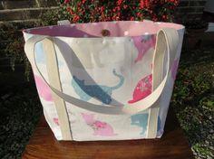 Handmade Women's Emily Shoulder or Tote Bag by HectorsHouseCraft