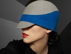 Hats Model in The World: Rike Feurstein Modern Hats