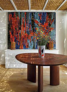 〚 Bright and authentic artist's villa on the Costa Brava in Spain 〛 ◾ Photos ◾ Ideas ◾ Design #art #painting #interiordesign #homedecor #interior #decor #ideas #inspiration #tips #coyz #Living #style #space Architectural Digest, Costa, Sorrento, Interior Inspiration, Spain, Interior Design, Design Art, Villa, Bright