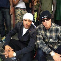 """TI & Will Ferrell... """"mayo"""" lol"""