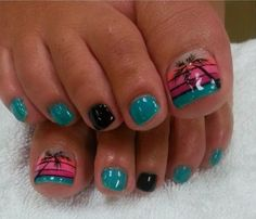 30 Fabulous Acrylic Nail Artwork Patterns and Suggestions 2014 | Nail Design