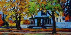 Paintings - David Langevin Artworks Inc. Original Paintings, David, Cityscapes, Landscape, Architecture, Artist, Artworks, Projects, Buildings