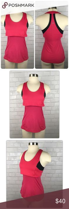 Lululemon Run Like the Wind Singlet Tank Run Like The Wind Singlet Tank Top  • Pink w/ Black Trim  • Size 6  • Layered front  • Racerback  • Lightweight, circle mesh fabric for your comfort  • Chafe free - flat seams  • Wicking/quick dry  • Reflective Lululemon symbol on back  • Pocket at hip with size dot inside  EXCELLENT Condition! Worn once!  💪👧 lululemon athletica Tops Tank Tops