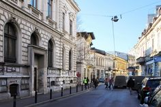 Enchanting street in Old Town Bucharest. Serviced Apartments, Luxury Apartments, Holiday Accommodation, Bucharest, Old Town, Old Things, Street View, Elegant, Old City