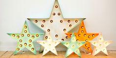 Estrellas luminosas by La Factoría Plástica