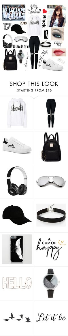"""""""DARK COOL STYLE"""" by blerina4 on Polyvore featuring KTZ, Fiorelli, Beats by Dr. Dre, STONE ISLAND, Express, Graham & Brown, BKE and Jayson Home"""