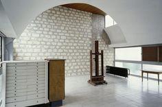 Le Corbusier's Studio-Apartment at Molitor apartment block, 24, rue Nungesser et Coli, Paris