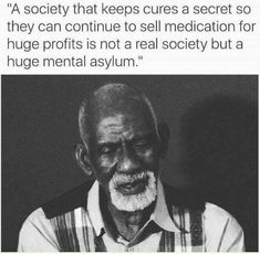 Ancestor Dr. Sebi with the unfortunate TRUTH!