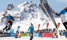 Kar Voleybolu Avrupa Kupası Erciyes'te Başladı