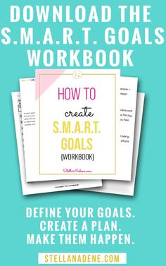Setting goals in life, whether for adults, kids, or students, should be structured so you can see how your ideas have become reality through hard work! Check out this worksheet to make a planner for motivation and inspiration and crush them using SMART go Goal Setting Life, Goal Settings, What Are Smart Goals, Smart Goals Examples, Smart Goals Worksheet, Types Of Goals, Time Management Strategies, Personal Goals, Personal Finance