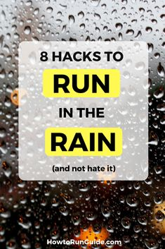 Run in the rain without hating it, with these 8 genius hacks that make running in the rain less sucky. No one likes running in the rain but these 8 tricks make it bearable! Beginner Half Marathon Training, Half Marathon Tips, Half Marathon Motivation, Marathon Running, Half Marathons, Running In The Rain, Running Plan, People Running, Learn To Run