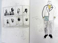 Fashion Sketchbook - fashion illustration & sketching; fashion student portfolio // Celine Schubert