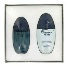 Obsession Night Gift Set By Calvin Klein Gift Set Women Includes 3 4