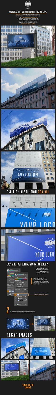 Outdoor Advertising Mockups on Behance