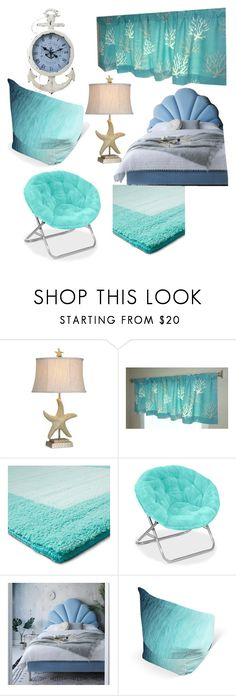"""""""Percy Jackson's Bedroom"""" by regulus-star ❤ liked on Polyvore featuring interior, interiors, interior design, home, home decor, interior decorating, Stylecraft, Pillowfort and bedroom"""