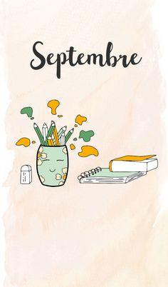 Doodle septembre  #gribouillistreet #septembre Doodle Art, Doodles, Illustration, Fictional Characters, Backgrounds, Iphone, Doodle, September, Characters