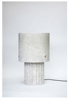 Max Lamb, 'Medium Portland Limestone Lamp,' 2014, Johnson Trading Gallery